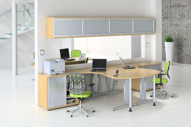 Decoraci n de oficinas modernas alquiler de oficinas en for Imagenes oficinas modernas